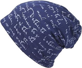 Smile YKK The Full Alphabet Stretch Soft Slouchy Beanie Hat Cap