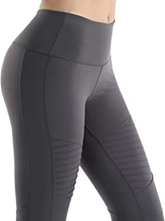 Nonwe Women's Yoga Legging Stretch High Waist Workout Sports Exceise Pants