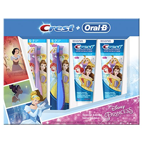 Crest Oral-B & Kids Special Pack Featuring Disneys Princess Characters