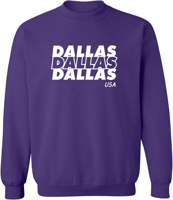 Dallas USA Crewneck Sweatshirt