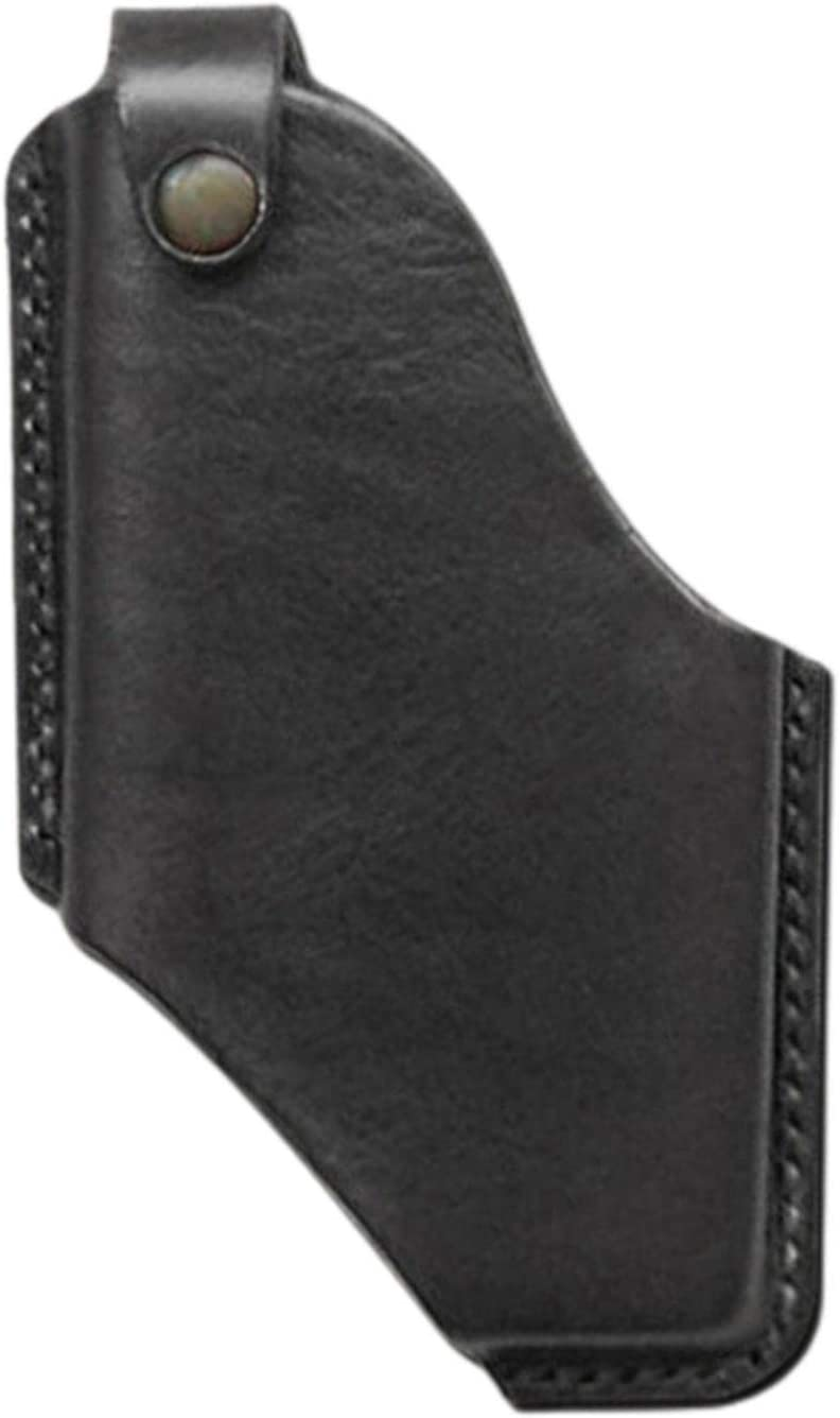 Cell Phone Holsters,Leather Phone Holster with Belt Clip, 2 Size Options, S:fit 4.7inch,5.5inch,5.8inch Mobile Phone, L: Fit 6.3inch 6.5inch Mobile Phone, Black