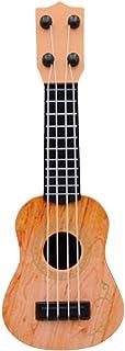 TEGT Ukulélé - Petit modèle de guitare - Jouet pour enfant - Guitare - Instrument de musique - Instrument de musique - Ins...