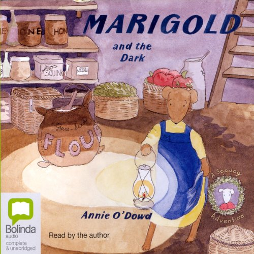 Marigold and the Dark audiobook cover art