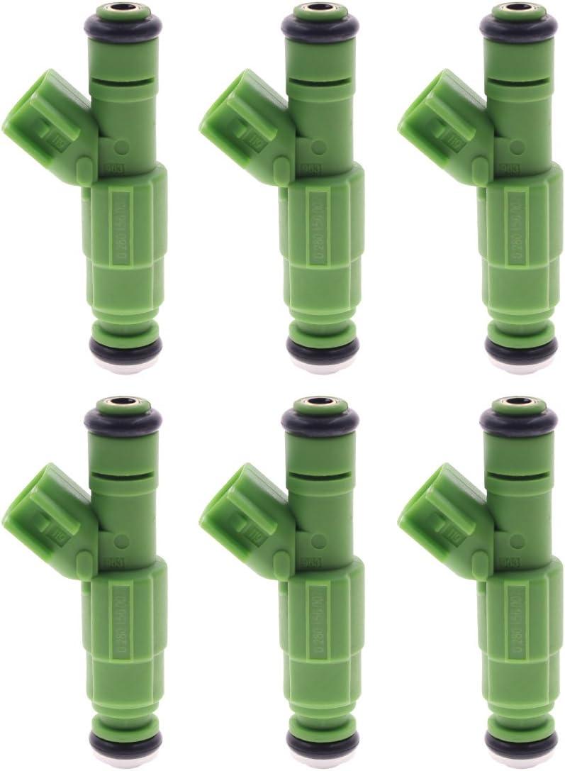 AUTOKAY 35% Max 43% OFF OFF 6 PCS Fuel Injectors Caravan Chrysl For 0280156007 Dodge