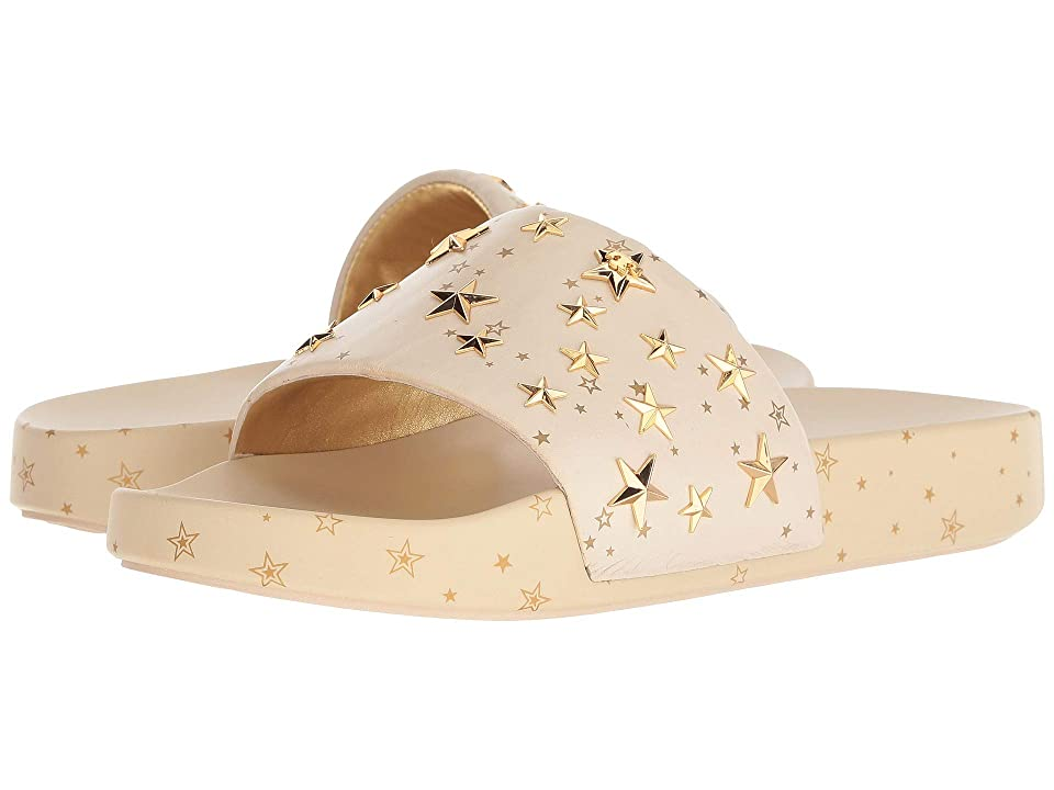 Tory Burch Star Slide (New Cream/Gold) Women