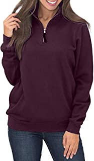 Best maroon quarter zip pullover Reviews
