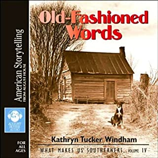 Old-Fashioned Words audiobook cover art