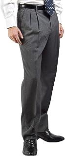 (スーツビート) suitbeat 洗える スラックス メンズ 無地 薄手 ノータック ツータック