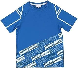 Kids Turquoise Short Sleeves T-Shirt