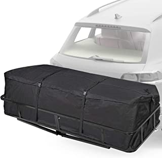 Trailer Hitch Cargo Carrier Bag - Waterproof Hitch Tray Cargo Carrier Bag for Vehicle Car Truck SUV Vans, Luggage Storage Bag for Hitch Racks(10 Cubic Feet) Size: 58