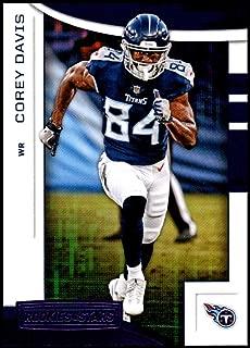 2018 Panini Rookies and Stars Purple #87 Corey Davis NM-MT Tennessee Titans Official NFL Football Card