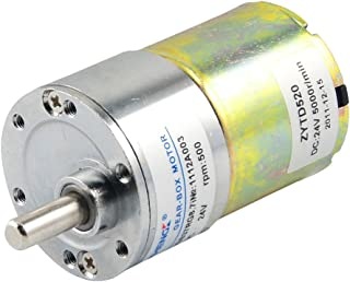 uxcell40GB 3-5RPM DC 12V Speed Reduce Geared Box Motor