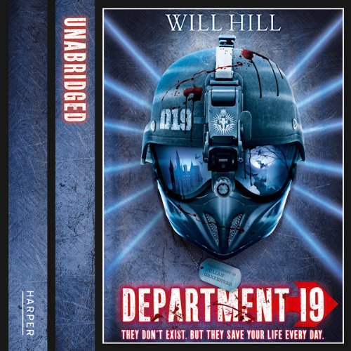 Department 19 audiobook cover art
