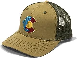 Colorado Fish Trout Trucker Hat - Tan