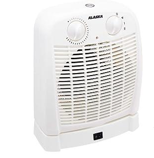 Alaska Termoventilador fh2015| eléctrico calefactor | 60grados oscilación | 2.000W | sobrecalentamiento.