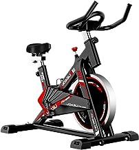 FINEjuyudd Exercise Bike Indoor Cycling Bike Magnetic Resistant Spin Bike Belt Drive Heavy Chromed Flywheel Heart Rate Sen...
