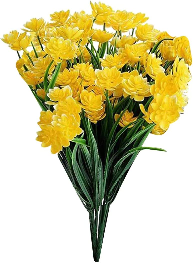 YeLukk 2PCS Artificial A surprise price is realized Flowers Faux Real Floral Bouquet Don't miss the campaign Touch