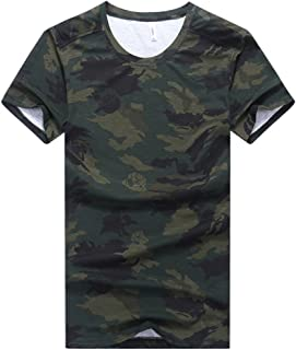 Goorape Men's Camo-Camouflage Casual T-Shirt Big and Tall