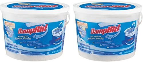 Damprid Rv & Boat Moisture Absorber, 4 lbs- Pack of 2
