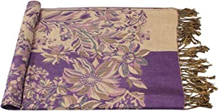 Wiwsi Floral Print Scarf Winter Flower Beach Wrap Scarves Female Neck Wrap Shawl