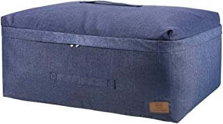Sacs pour vêtements Placard Organisateur robuste Poignées 3 couches Sacs Vêtements d'entreposage tissu consolateurs Couver...