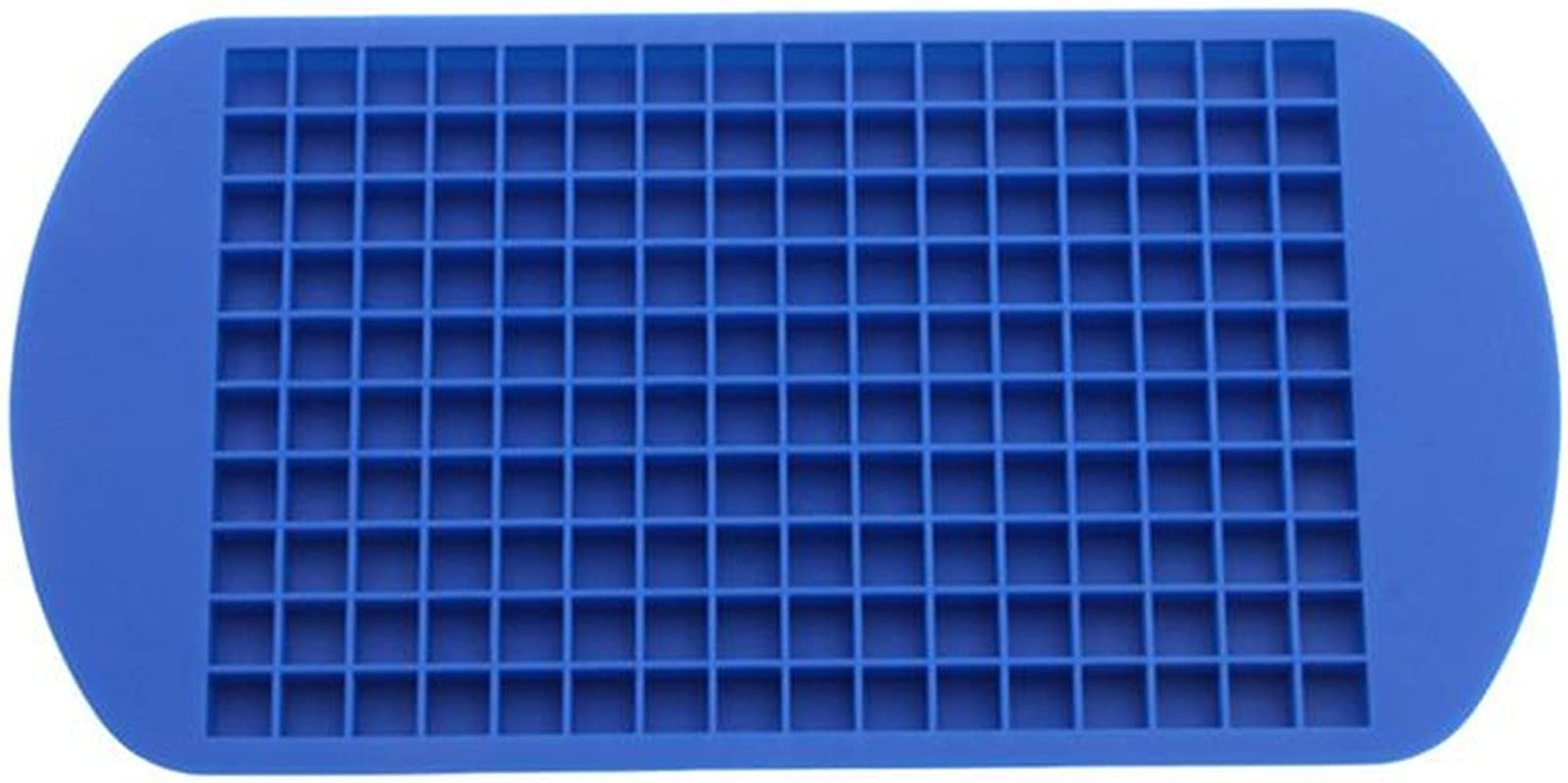 HENGSONG 160 Mini Small Silicone Ice Mold Cube Tray Ice Box Ball Maker DIY Mold For Kids Blue