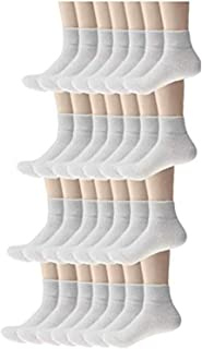 Moda West - Wholesale Bulk Case of Men's Athletic Crew, Low Cut, No-Show, and Ankle Socks - 96, 120, or 180 Pairs