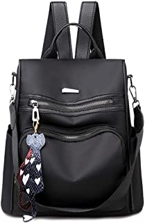 chinatera Women Backpack Purse Waterproof Anti-Theft Lightweight Nylon Fashion Purse Shoulder Bag Travel Backpack Ladies