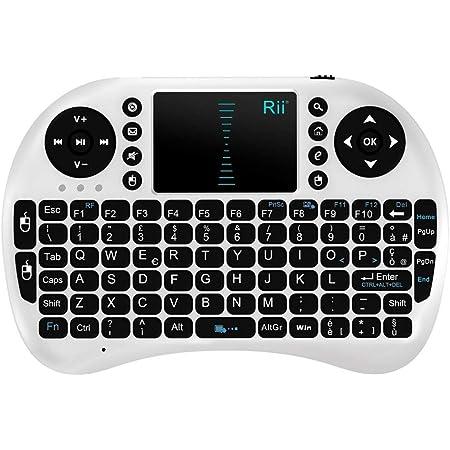 Rii Mini i8 Wireless (layout ITALIANO) - Mini teclado con mouse touchpad