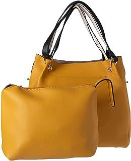 مجموعة حقائب اليد للنساء - اصفر