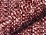 Möbelstoff SALZACH 835 Karomuster rot als robuster