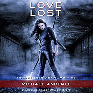 Love Lost     The Kurtherian Gambit, Book 3              By:                                                                                                                                 Michael Anderle                               Narrated by:                                                                                                                                 Emily Beresford                      Length: 6 hrs and 40 mins     83 ratings     Overall 4.7