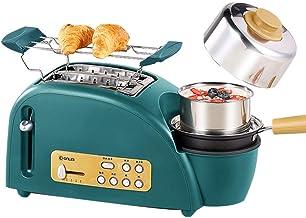 Grille-Pain ménage Mini Multifonctions Automatique Grille-Pain conducteur bouillante Machine à Oeufs à la Vapeur Grille-Pa...
