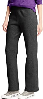 womens Ecosmart Petite Open Bottom Leg Sweatpants