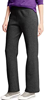 ComfortSoft Women's Open Bottom Leg Fleece Sweatpant