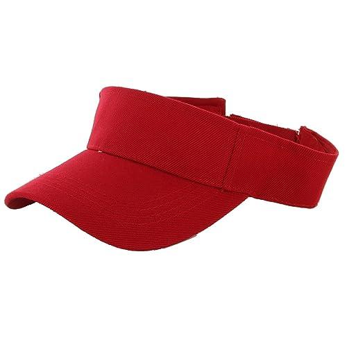 LA Gen Sales Plain Men Women Sport Outdoor Sun Visor Adjustable Cap 80e1f4ef4fb