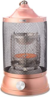 Radiador eléctrico MAHZONG Calentador de pie de Cobre Antiguo 1000W Calentador del hogar