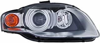 Headlight Replacement For Audi A4 / S4 / Rs4 / Cabriolet Passenger Right Side 2005 2006 2007 2008 Headlamp AU2503129