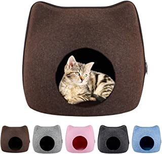 Goolfly Cat Pet Cave Cat Cave Bed Cat Bed for Cats Kittens Pets