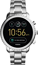 Fossil Q Men's Gen 3 Explorist Stainless Steel Smartwatch, Color: Silver-Tone (Model: FTW4000)