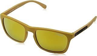 Arnette BURNSIDE AN4236-2457N0 Sunglasses Matte Mustard w/Brown(orange)/24k Iridium Lens 56mm