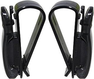 BESTOMZ Clip für Sonnenbrillen, aus Kunststoff, für Auto Visier, 2 Stück