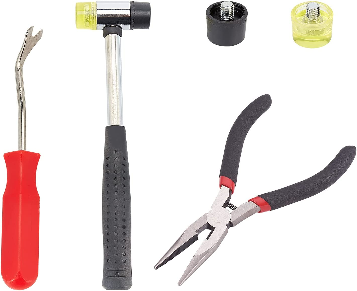 PandaHall Upholstery Tool Set Hammer w Installable Super special price Double-Faced Max 67% OFF