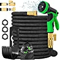 Donrovia 100ft Expandable Garden Hose with 9 Function Nozzle