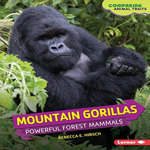 Mountain Gorillas audiobook cover art