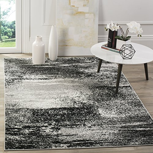 Safavieh Adirondack Collection ADR112G Modern Abstract Area Rug, 8' x 10', Silver/Multi