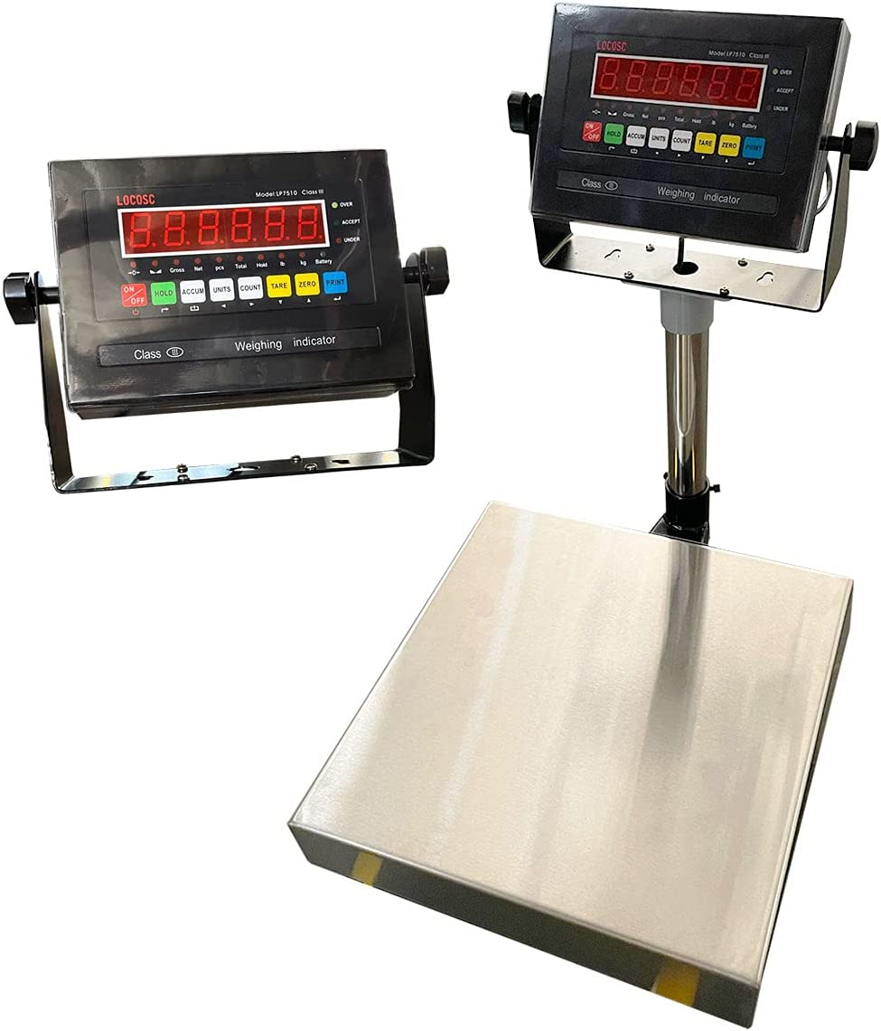 Max Don't miss the campaign 79% OFF PEC Digital Bench Scale Postal Stainless Shipping Ste with