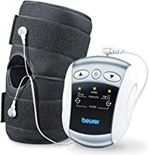 Beurer EM34 2-in-1 Knee & Elbow TENS Unit, Electric Massager with Brace for Pain Relief | 25 Modes | Good for Professional...