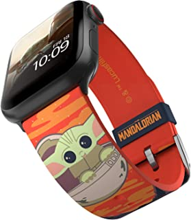 $39 » Sponsored Ad - Star Wars: The Mandalorian - The Child Bounty Smartwatch Band - Officially Licensed, Compatible with Apple ...