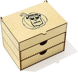 Azeeda  Frankenstein Pumpkin  Vanity Case Makeup Box  VC00020483
